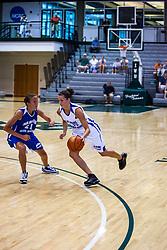 20 June 2009: Lauren Mitchell.  Illinois Basketball Coaches Association 1A-2A Girls All Star game.