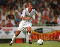ZIDANE, Zinedine                  <br />Fu§ballspieler  Real Madrid