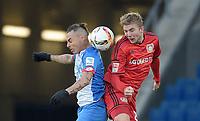 Fotball<br /> Tyskland<br /> 23.01.2016<br /> Foto: Witters/Digitalsport<br /> NORWAY ONLY<br /> <br /> v.l. Eduardo Vargas (Hoffenheim), Christoph Kramer<br /> Sinsheim, 23.01.2016, Fussball Bundesliga, TSG 1899 Hoffenheim - Bayer 04 Leverkusen