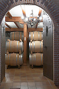 the barrel aging cellar , Bodegas Otero, Benavente spain castile and leon