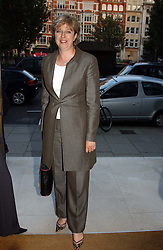 THERESA MAY MP at the Conservative party Pre-Conference Season party hosted by Lord Saatchi and Lord Strathclyde and held at M&C Saatchi, 36 Golden Square, London W1 on 7th September 2004.