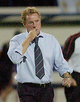 Photo: Leigh Quinnell.<br /> Luton Town v Southampton. Coca Cola Championship.<br /> 09/08/2005.Southampton boss Harry Redknapp unhappy after the game.