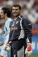 Milano 21/8/2004 Supercoppa Italiana - Italian Supercup Milan Lazio 3-0 Angelo Peruzzi Lazio <br /> <br /> Foto Andrea Staccioli Graffiti