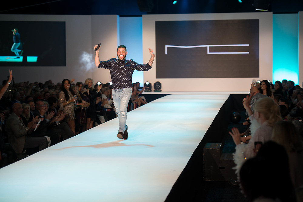 2018 Fashion Week El Paseo, in Palm Desert, California. Fashion week kicks off in the desert with the opening night theme of California Dreamin' featuring designers Michael Costello, Trina Turk, Mr. Turk and Ali Rahimi for Mon Atelier. Michael Costello runway show. Photos by Tiffany L. Clark