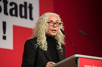 DEU, Deutschland, Germany, Berlin, 10.12.2016: Azize Tank, MdB Die Linke, beim Landesparteitag von Die Linke im WISTA-Veranstaltungszentrum Adlershof.