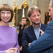 NLD/Den Haag/20190919 - Prinses Margarita exposeert op Masterly The Hague, Nicole Uniquole, Alexander Pechteld, Prins Pieter Christiaan