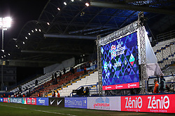 Score after football match between National teams of Greece and Slovenia in Final tournament of Group Stage of UEFA Nations League 2020, on November 18, 2020 in Georgios Kamaras Stadium, Athens, Greece. Photo by MATTHAIOS YORGOS / INTIME SPORTS / SPORTIDA