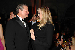 AL GORE and DARYL HANNAH at the 2nd Fortune Forum Summit and Gala Dinner held at the Royal Courts of Justice, The Strand, London on 30th November 2007.<br /><br />NON EXCLUSIVE - WORLD RIGHTS