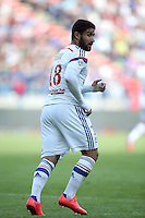 Nabil FEKIR - 09.05.2015 -  Caen / Lyon  - 36eme journee de Ligue 1<br />
