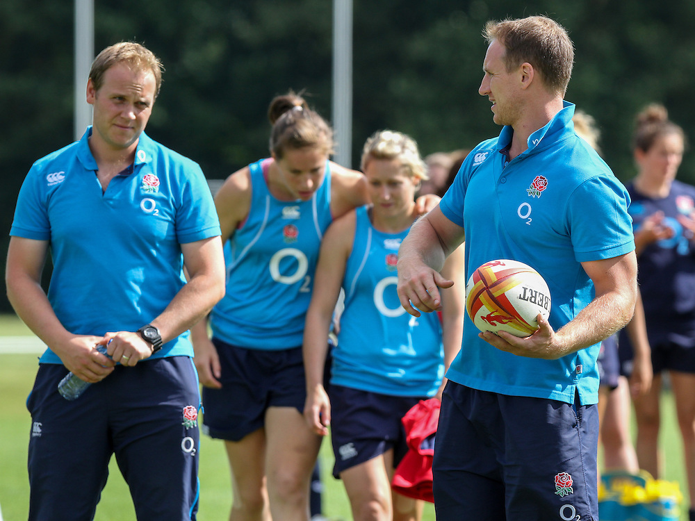 WRWC England training at Stade Montelievres, Saintry, France, on 15th August 2014