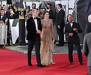 Tuesday 28 September 2021<br />Bond: No Time To Die - world film. premiere <br />The Royal Albert Hall<br /> William and Catherine,  Duke & Duchess of Cambridge