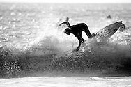 Surfing in San Diego, CA. ©Brett Wilhelm