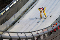 25.11.2012, Lysgards Schanze, Lillehammer, NOR, FIS Weltcup, Ski Sprung, Herren, im Bild Freitag Richard (GER) during the mens competition of FIS Ski Jumping Worldcup at the Lysgardsbakkene Ski Jumping Arena, Lillehammer, Norway on 2012/11/25. EXPA Pictures © 2012, PhotoCredit: .EXPA/ Federico Modica