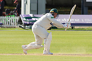Mark Cosgrove batting during the Specsavers County Champ Div 2 match between Leicestershire County Cricket Club and Lancashire County Cricket Club at the Fischer County Ground, Grace Road, Leicester, United Kingdom on 26 September 2019.