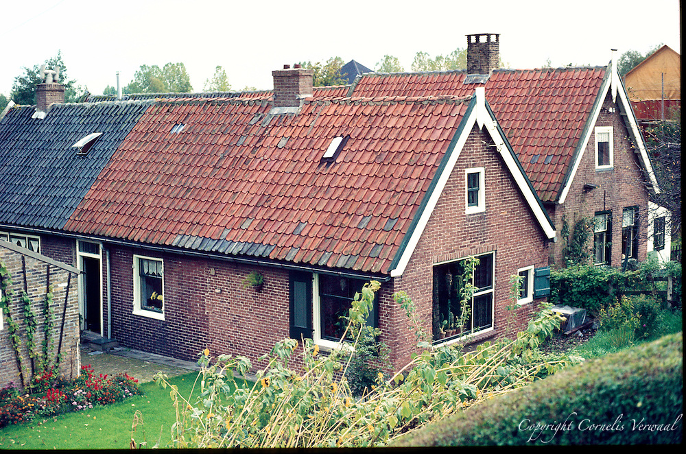 Scene from the Village of Ammerstol in the Netherlands from the late 1970's