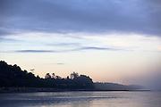 Kalaloch beach at sunset. Olympic National Park, Washington.
