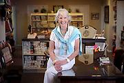 Interior Designer Patty Downing in her Stuart Florida Showroom.