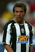 Milano 27/7/2004 Trofeo Tim - Tim tournament <br /> <br /> <br /> <br /> Alessandro Del Piero Juventus<br /> <br /> <br /> <br /> Inter Milan Juventus <br /> <br /> <br /> <br /> Inter - Juventus 1-0<br /> <br /> <br /> <br /> Milan - Juventus 2-0<br /> <br /> <br /> <br /> Inter - Milan 5-4 d.cr - penalt.<br /> <br /> <br /> <br /> <br /> <br /> <br /> <br /> Photo Andrea Staccioli Graffiti