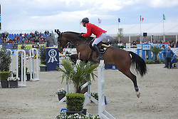 Sprehe Jan, (GER), Sam S<br /> CSI4* Qualifikation DKB-Riders<br /> Horses & Dreams meets Denmark - Hagen 2016<br /> © Hippo Foto - Stefan Lafrentz