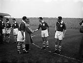 1955 - Ireland v Spain International at Dalymount Park