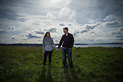 Kai & Kelsie Engagement session. We started the session at Chambers Bay and than ended the day in Seattle.