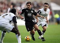 Photo: Rich Eaton.<br /> <br /> Swansea City v Bristol City. Coca Cola League 1. 26/11/2006. Lee Johnson #33 of Bristol attacks
