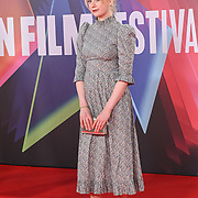Lauren McCrostie attended 'Succession' European Premiere I BFI London Film Festival 2021, 15 October 2021 Southbank Centre, Royal Festival Hall, London, UK.