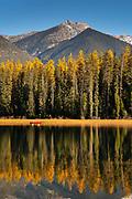 Paddling on Holland Lake, Montana.