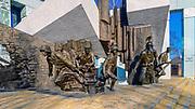 Pomnik ku czci bohaterów powstania warszawskiego na placu Krasińskich w Warszawie, Polska<br /> Monument to the Heroes of the Warsaw Uprising at Krasińskich Square in Warsaw, Poland