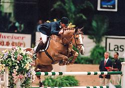 Philippaeerts Ludo, BEL, Otterongo van de Kopshoeve<br /> World Cup Final Jumping - Las Vegas 2000<br /> © Hippo Foto - Dirk Caremans