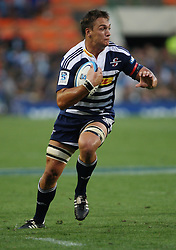 Rynhardt Elstadt during the Super Rugby (Super 15) fixture between the DHL Stormers and the Lions held at DHL Newlands Stadium in Cape Town, South Africa on 26 February 2011. Photo by Jacques Rossouw/SPORTZPICS