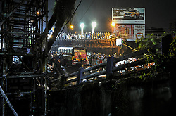 On the evening of 4th september,a large part of bridge over majerhat railway station  came crashing down due to gurder failure,killing 3 and injuring more than 24 peoples.