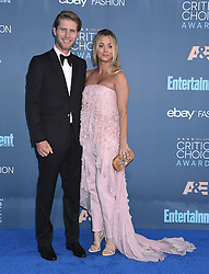 Celebrities attend the 22nd Annual Critics' Choice Awards held at Barker Hanger in Santa Monica, California. 11 Dec 2016 Pictured: Kaley Cuoco. Photo credit: American Foto Features / MEGA TheMegaAgency.com +1 888 505 6342