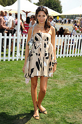 ASTRID MUNOZ at the Cartier International Polo at Guards Polo Club, Windsor Great Park on 27th July 2008.<br /> <br /> NON EXCLUSIVE - WORLD RIGHTS