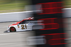 June 1, 2018 - Long Pond, Pennsylvania, United States of America - Paul Menard (21) takes to the track to practice for the Pocono 400 at Pocono Raceway in Long Pond, Pennsylvania. (Credit Image: © Justin R. Noe Asp Inc/ASP via ZUMA Wire)