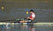 Caversham  Great Britain.<br /> Graeme THOMAS.<br /> 2016 GBR Rowing Team Olympic Trials GBR Rowing Training Centre, Nr Reading  England.<br /> <br /> Tuesday  22/03/2016 <br /> <br /> [Mandatory Credit; Peter Spurrier/Intersport-images]