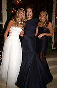 Petra, Slavika  and Tamara  Ecclestone, Crillon 2004 Debutante Ball. Crillon Hotel. Paris. 26 November 2004. ONE TIME USE ONLY - DO NOT ARCHIVE  © Copyright Photograph by Dafydd Jones 66 Stockwell Park Rd. London SW9 0DA Tel 020 7733 0108 www.dafjones.com