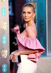 Tatiana Korsakova attending the 72nd British Academy Film Awards held at the Royal Albert Hall, Kensington Gore, Kensington, London.