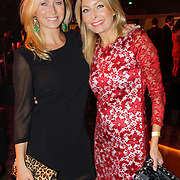 NLD/Amsterdam/20121013- LAF Fair 2012 VIP Night, Do, Dominique van Hulst en vriendin ???.