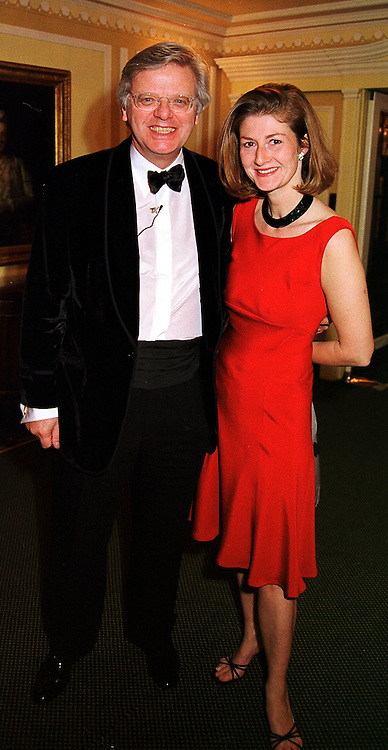 MR & MRS MICHAEL GRADE he is the TV executive, at a ball in London on 13th October 1999.MXP 79