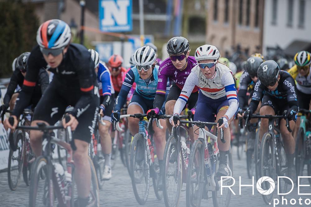 British National Champion Alice Barnes (GBR/Canyon SRAM).  <br /> <br /> 2nd Nokere Koerse WE (BEL) 2021<br /> UCI Women Elite 1.PRO<br /> One Day Race: Deinze > Nokere 124km