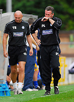 Photo: Leigh Quinnell.<br /> Wycombe Wanderers v Shrewsbury. Coca Cola League 2. 22/09/2007. Wycombe boss Paul Lambert feels the presure.