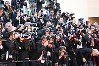 Photographers at The Immigrant film gala screening at the Cannes Film Festival Friday 24th May May 2013