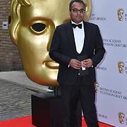 Krishnendu Majumdar Arrivers at the British Academy Television Craft Awards on 28 April 2019, London, UK.