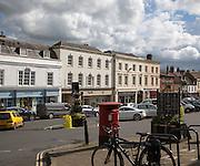 Historic High Street, Marlborough, Wiltshire, England, UK