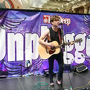 London, UK. 27 May 2017. Singer Danny Wrightprefroms at The Great British Tattoo Show at Alexandra Palace, London,UK