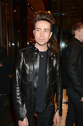 NICK GRIMSHAW at a party hosted by Gucci & Clara Paget to drink a new cocktail 'I Bamboo You' held at Gucci, 34 Old Bond Street, London on 16th October 2013.