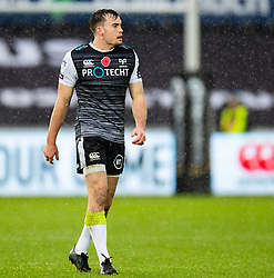 Cai Evans of Ospreys<br /> <br /> Photographer Simon King/Replay Images<br /> <br /> Guinness PRO14 Round 6 - Ospreys v Southern Kings - Saturday 9th November 2019 - Liberty Stadium - Swansea<br /> <br /> World Copyright © Replay Images . All rights reserved. info@replayimages.co.uk - http://replayimages.co.uk