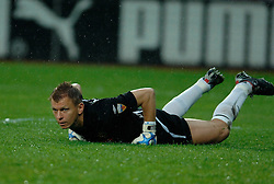 09-05-2007 VOETBAL: PLAY OFF: UTRECHT - RODA: UTRECHT<br /> In de play-off-confrontatie tussen FC Utrecht en Roda JC om een plek in de UEFA Cup is nog niets beslist. De eerste wedstrijd tussen beide in Utrecht eindigde in 0-0 / Vladan Kujovic<br /> ©2007-WWW.FOTOHOOGENDOORN.NL