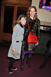 DARCEY BUSSELL and her daughter PHOEBE at Cirque du Soleil's VIP night of Kooza held at the Royal Albert Hall, London on 8th January 2013.